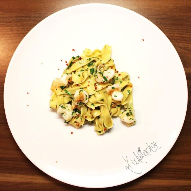 Pasta mit Knoblauch 2
