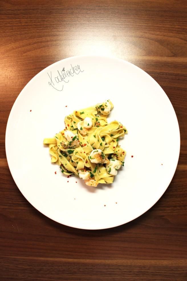 Pasta mit Knoblauch 3