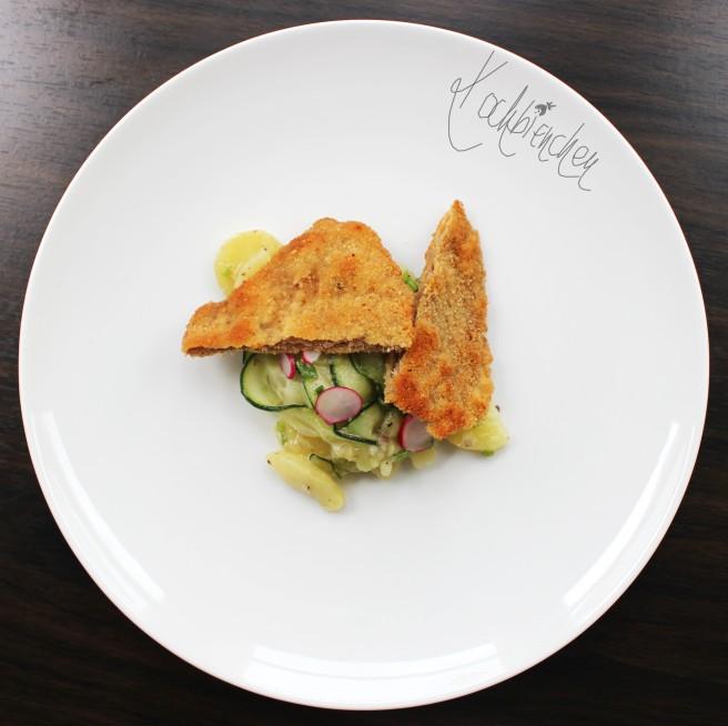 Schnitzel mit Kartoffelsalat 2