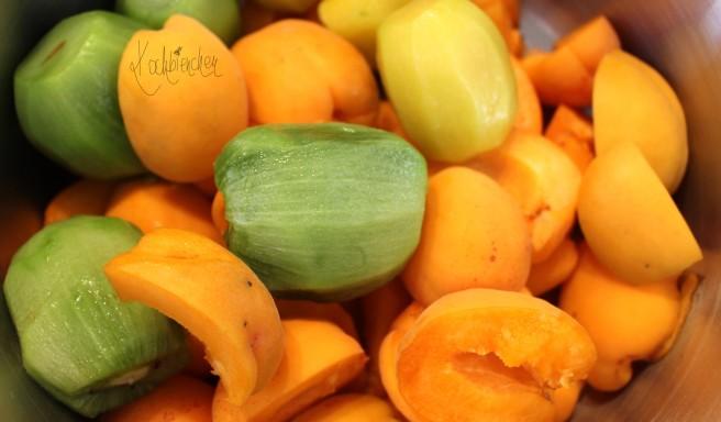 Marille-Kiwi-Marmelade 3