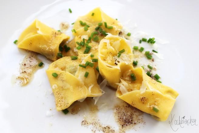 Tortellini mit Champignon-Hähnchen-Füllung 3
