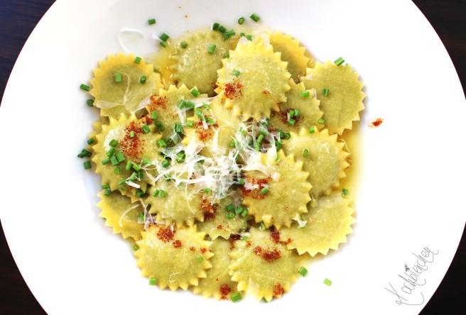 Ravioli mit Spinat-Topfen Füllung 2